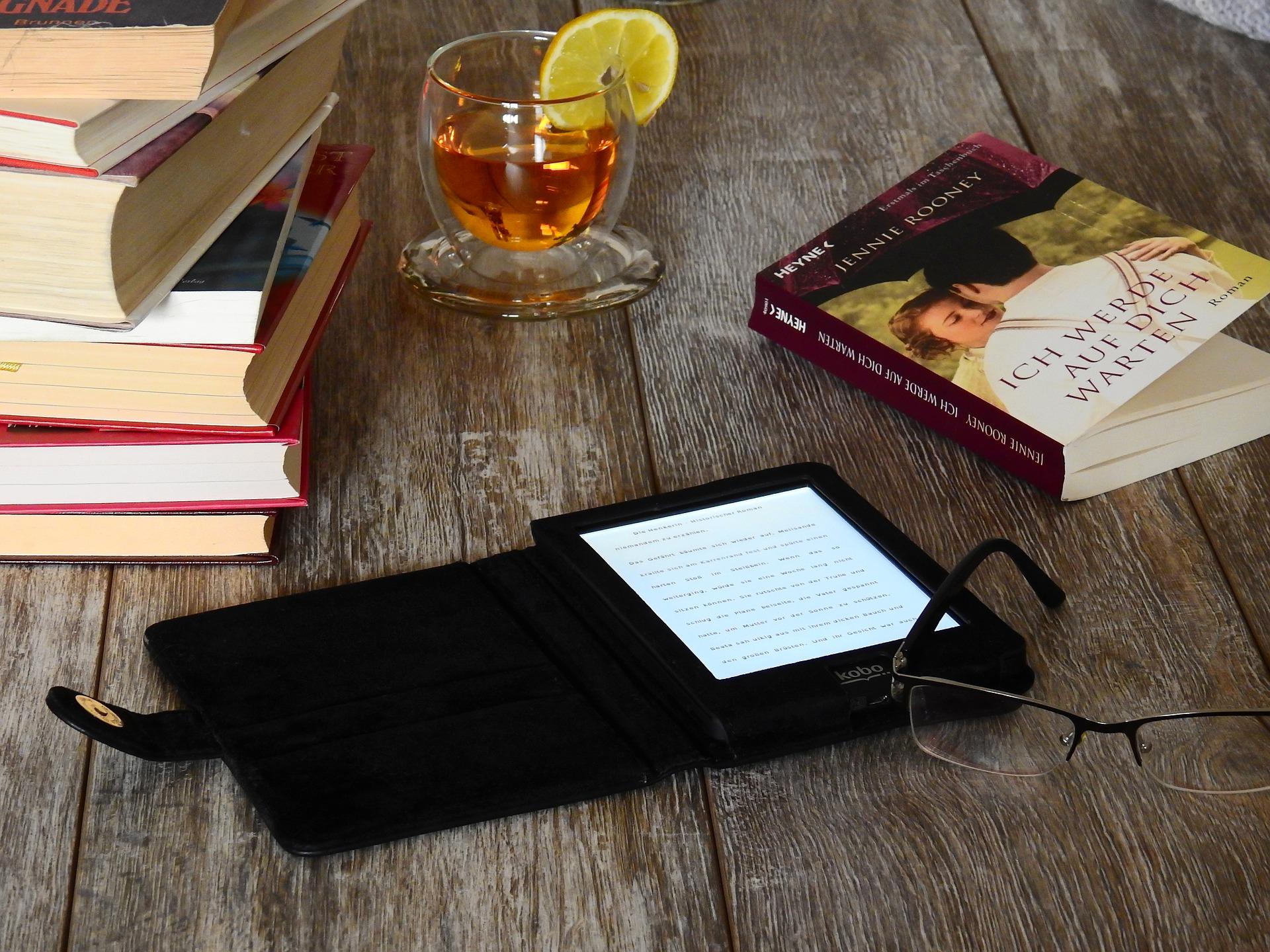 ebook book reading