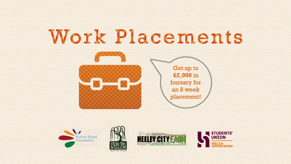 Work Placements - Applications Open!