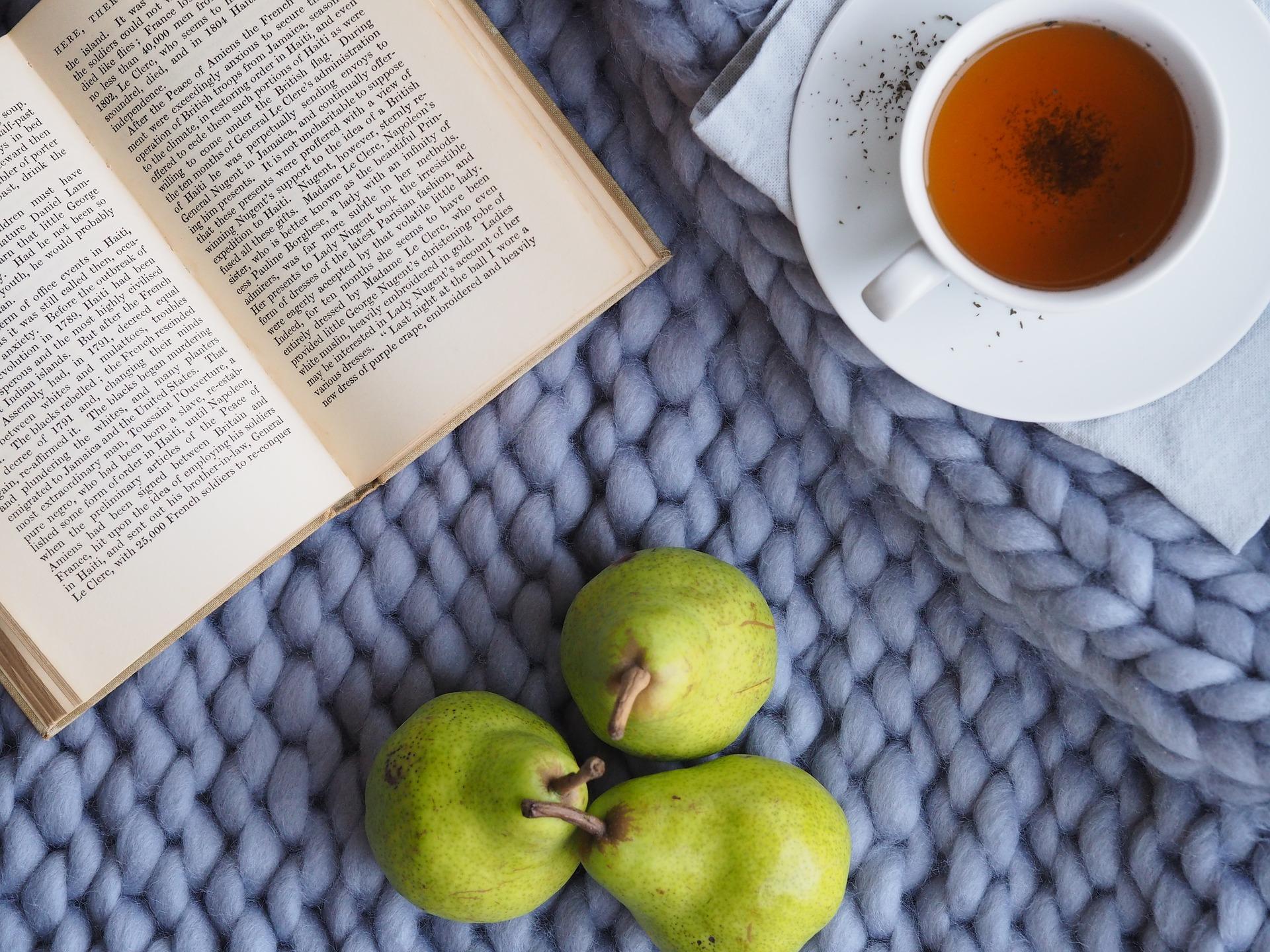 self care reading tea
