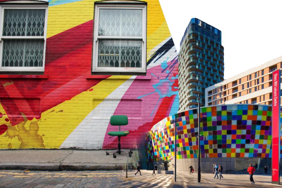 Graffiti and Lewisham Leisure centre