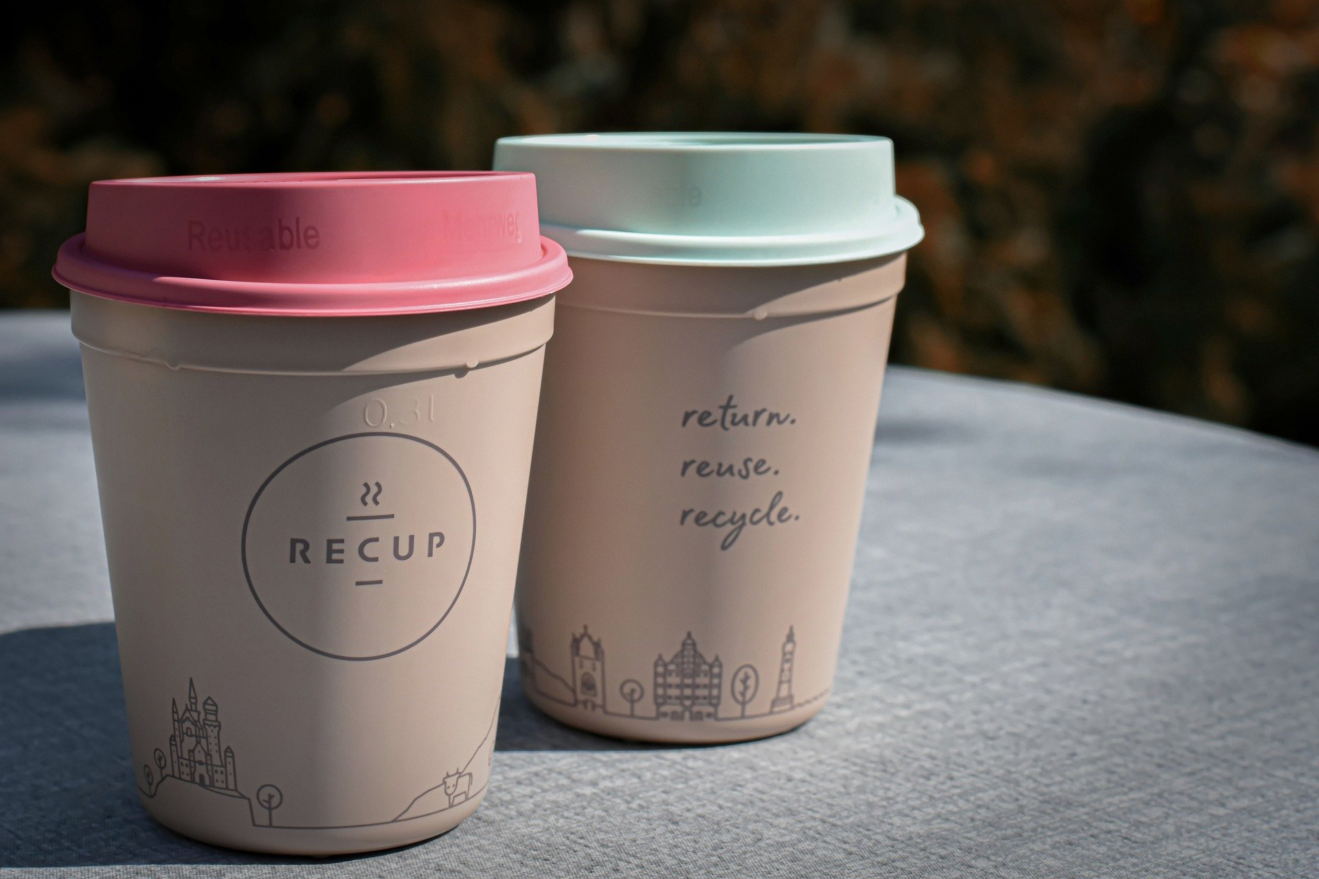 a cup of coffee reusable