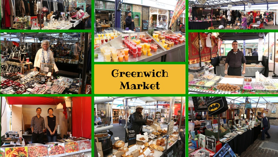 Greenwich market: From Batman to Boutique