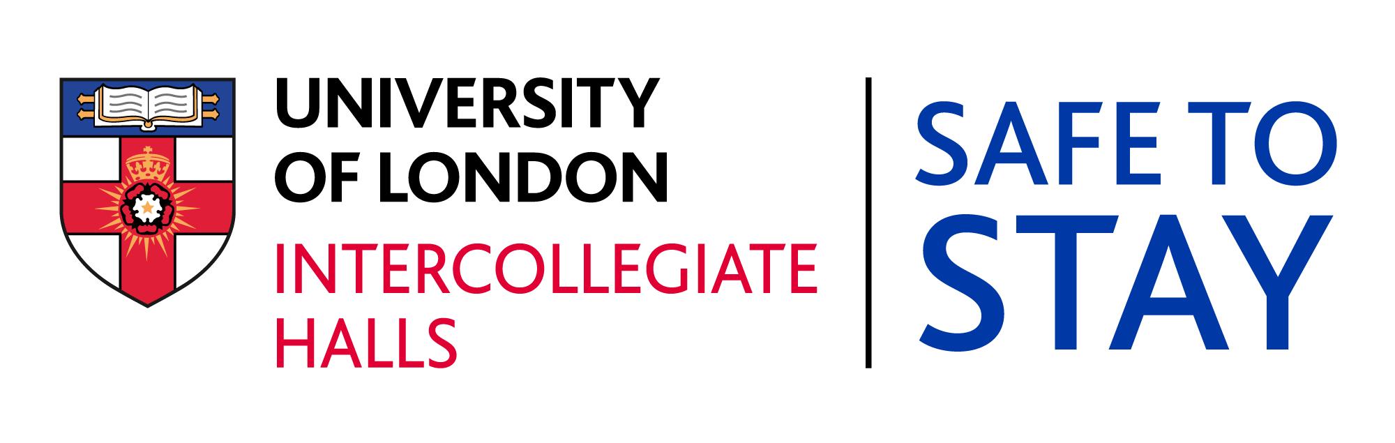 Intercollegiate Halls Safe to Stay logo