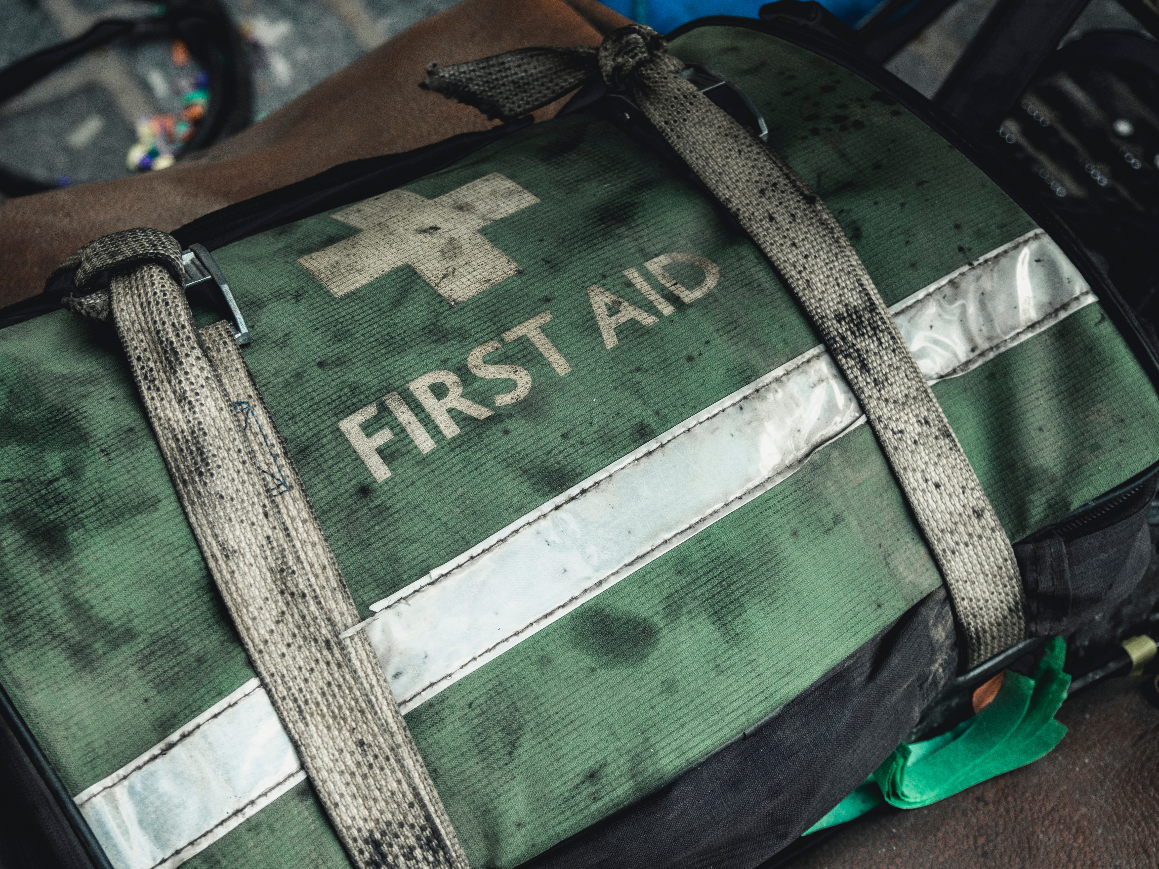 first aid luggage